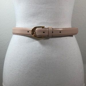 Nordstrom Blush Pink Leather Belt Size Medium 9010